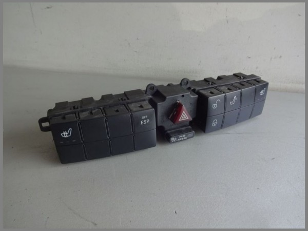 Mercedes Benz W203 switchbox 2038700910 ESP seat heating switchboard BJ.2005