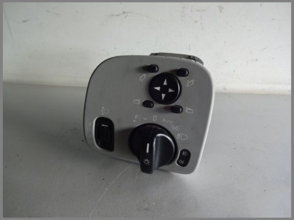 Mercedes Benz W203 Light Switch Panel Switch 2035451204 Alpa Gray 7376