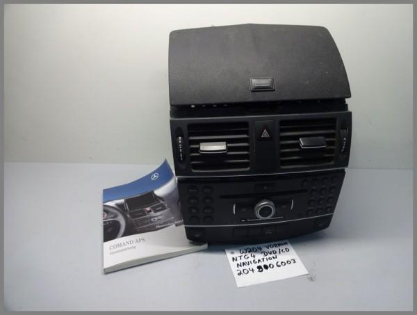 Mercedes W204 APS NTG4 Comand Radio 2049006003 DVD CD Navigation Original Umbau