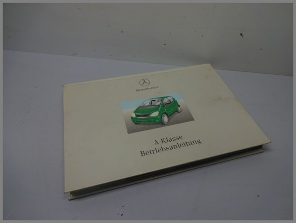 Mercedes Benz MB W168 A-Class Operating Instructions 1685846183