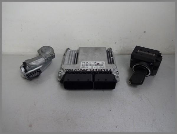 Mercedes MB W211 320CDI Motorsteuergerät Steuergerät 6481531279 Bosch 0281011349