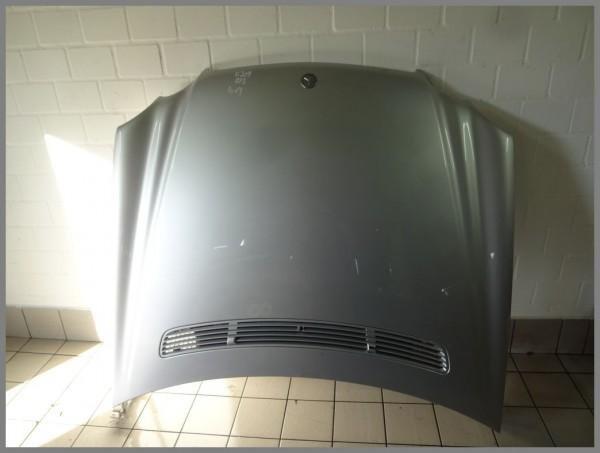Mercedes Benz W209 CLK-Class bonnet hood 775 iridium silver 2098800057 K13