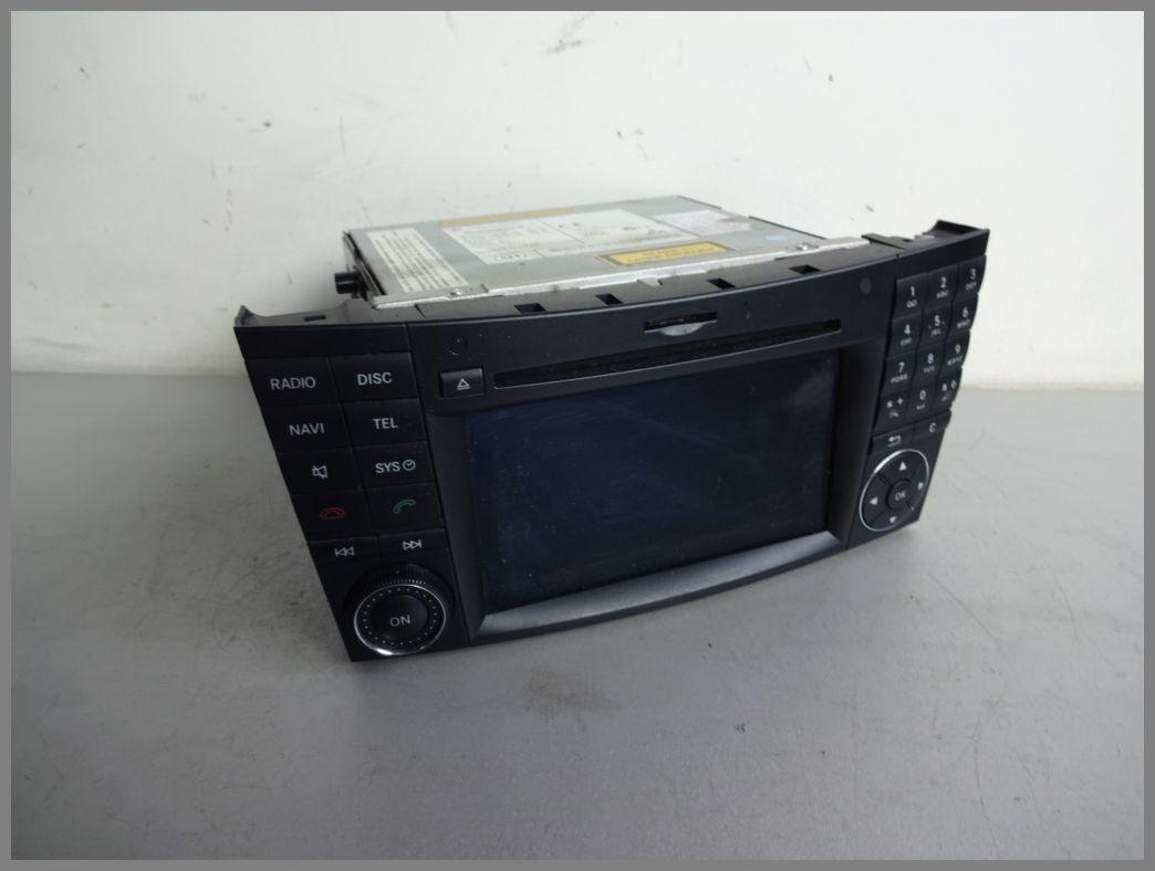 Mercedes W219 APS NTG2 5 BD0880 Comand Radio 2118705094 DVD Navigation  Original