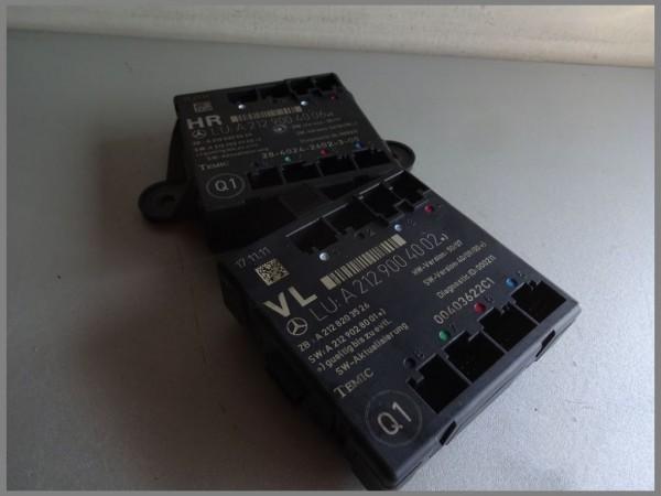 Mercedes Benz MB W204 Front door control unit LEFT 2129004002 Control unit Original