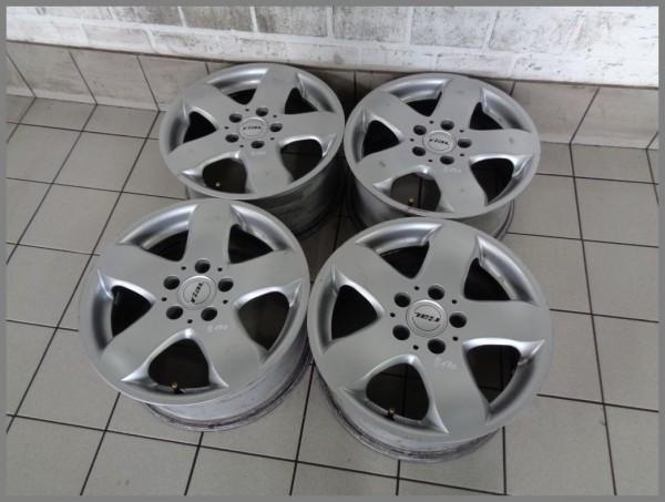 Mercedes Benz Design W211 RIAL Alu wheels 7,5x16 ET35 Rims KBA45369 SET B170