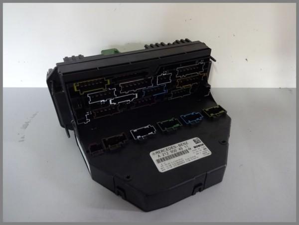 Mercedes Benz W212 control unit SAM 2129004911 fuse box BOSCH original