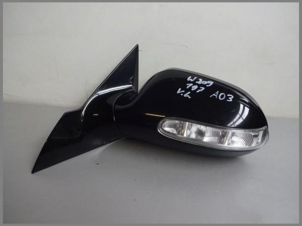Mercedes Benz W209 Außenspiegel Aussenspiegel LINKS 197 Schwarz 2098100376 A03