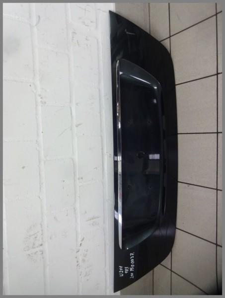 Mercedes W211 tailgate cover license plate recess 185 melanitblack 2118100173