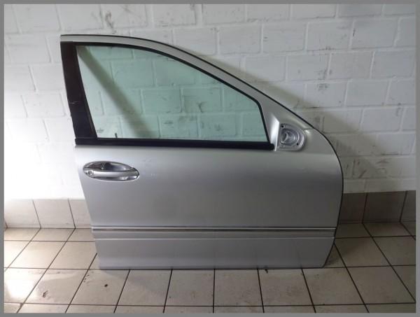 Mercedes Benz MB W203 Tür Vorne Rechts 744 Silber K2345 Original 2037200205