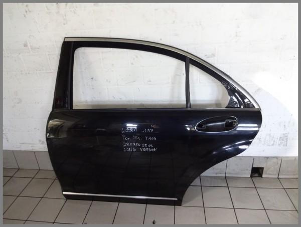 Mercedes W221 Tür hinten Links 197 Schwarz Original T104 2217300505 LANG
