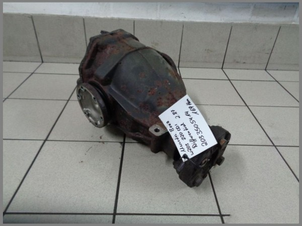 Mercedes Benz W203 differential 169tkm 2.87 rear axle 2033505414