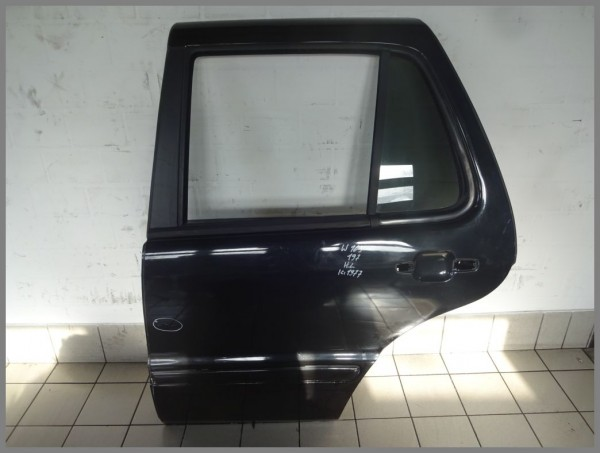 Mercedes Benz MB W163 ML-Class door rear left 197 Black 1637301505 K1977