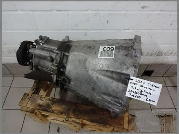 Mercedes Benz MB W204 Schaltgetriebe 716607 67tkm 6 Gang Getriebe 2042600400