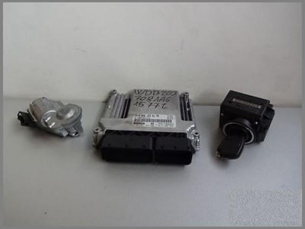 Mercedes Benz W203 CDI engine control unit 6461539179 Bosch 0281011654