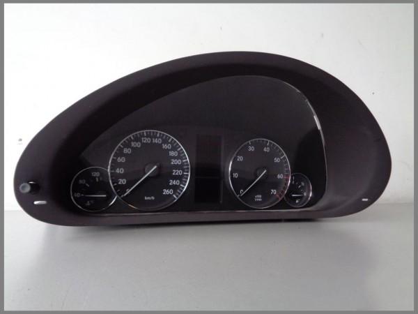 Mercedes Benz MB W203 MOPF Tacho Kombiinstrument 2035400348 VDO 110.080.266/018