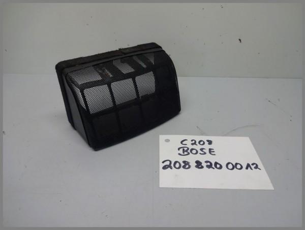 Mercedes Benz W208 BOSE speaker cover Back Side Black 2088200012