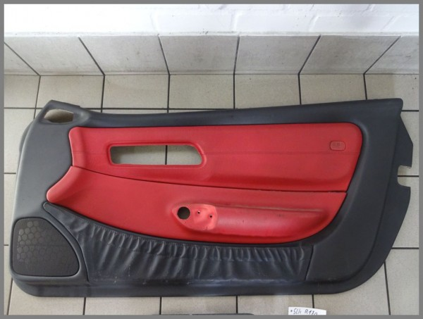 Mercedes Benz MB R170 door panel right paneling leather 1707204070 P2