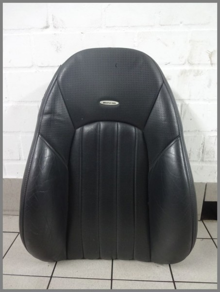 Mercedes W215 CL 55 AMG seat cover cover seat 2159104847 2159101816 leather black