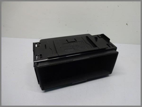 Mercedes Benz R170 SLK-Class storage compartment center console black 1706800034 Orig.