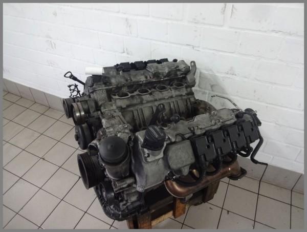 Mercedes Benz W215 AMG 55 compressor engine engine block M113991 113991 142tkm