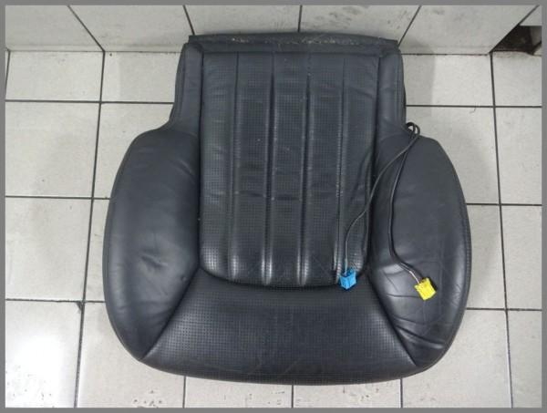 Mercedes W215 CL 55 AMG Sitzbezug Bezug Sitz 2159104046 2159102650 Leder Schwarz