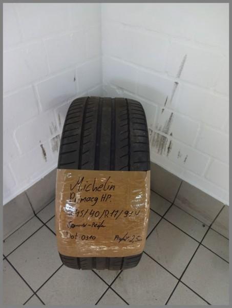 1x Michelin 245 40 R17 91W Primacy HP DOT0310 2,5mm Sommerreifen