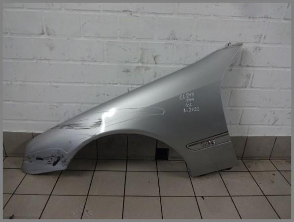Mercedes Benz W215 CL Kotflügel Links 744 Silber 2158800118 Original K2122