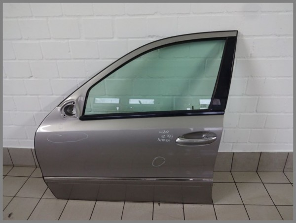 Mercedes Benz W211 E-Klasse Tür Vorne LINKS 723 Cubanitsilber 2117201305 K1020