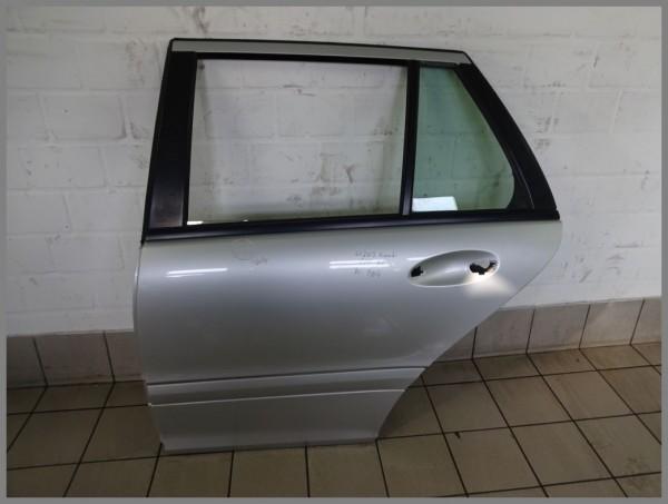 Mercedes Benz W203 Door Rear LEFT 775 Iridumsilver Estate Kombi 2037301105 K104