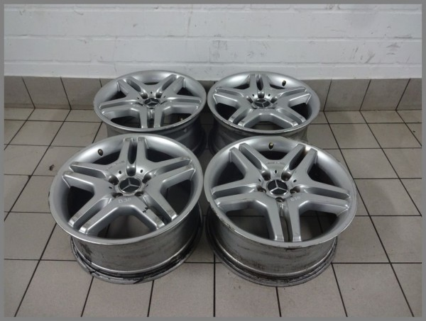 Mercedes W215 AMG aluminum rims rims 8,5x18 & 9,0x18 ET44 2204013402 2204013502