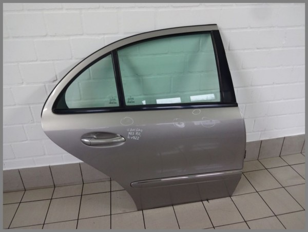 Mercedes Benz MB W211 Tür Hinten Rechts 723 Cubanitsilber Limo 2117300205 K1022