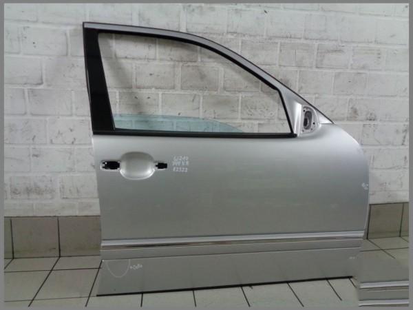 Mercedes Benz MB W210 Door Front RIGHT Passenger Side 744 Silver K2322 Original