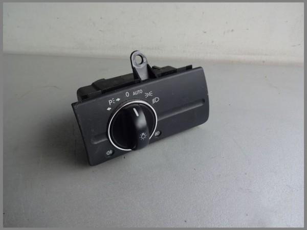 Mercedes Benz MB W211 MOPF Lichtschalter Schalter Licht 2115450704 Schwarz XENON
