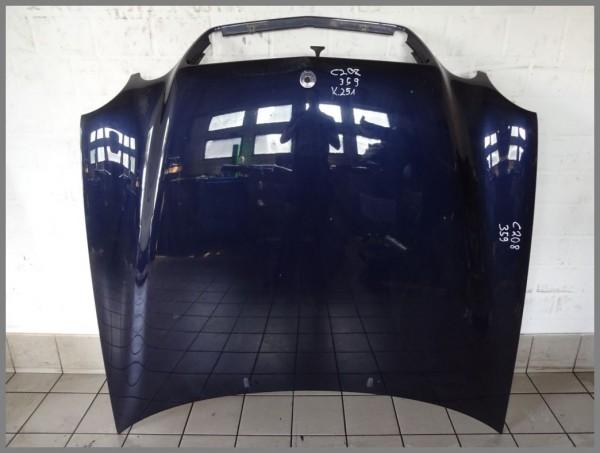 Mercedes Benz W208 Motorhaube Haube 359 Tansanitblau 2088800257 K251 Original