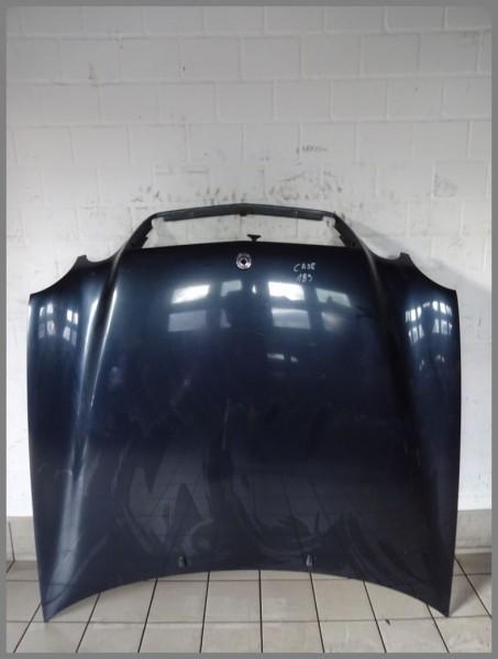 Mercedes Benz W208 Motorhaube Haube 189 Smaragdschwarz 2088800257 K253 Original