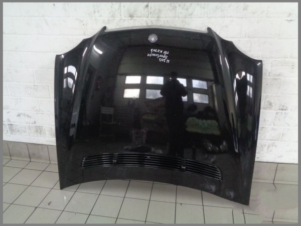 Mercedes Benz W203 CL203 SPORTCOUPE Motorhaube Haube 197 SCHWARZ Original K2303