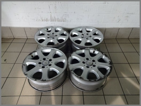Mercedes W203 aluminum rims 7x16 ET37 & 8x16 ET32 2094012802 2094012902 B2150
