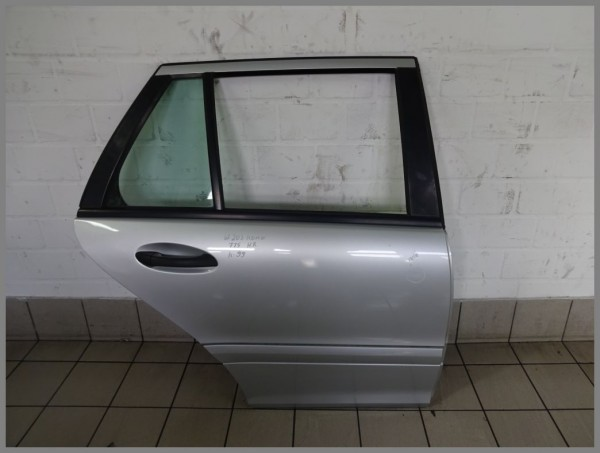 Mercedes Benz W203 Door Rear Back 775 Iridumsilver Estate Kombi 2037301205 K99