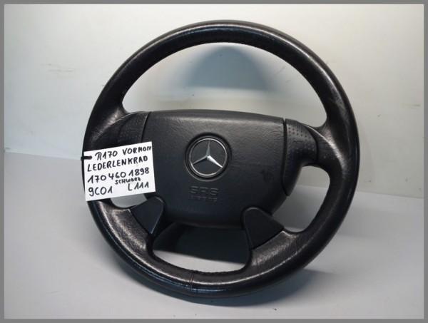 Mercedes Benz W208 R170 Airbaglenkrad Lederlenkrad Schwarz 9C01 1704601898 L111