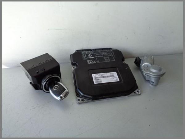 MB W203 C-Klasse Motorsteuergerät komplett 2711530591 Siemens 5WK90517 [03]