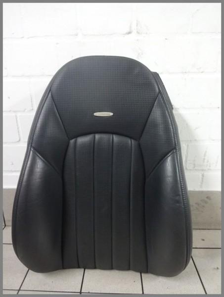 Mercedes W215 CL 55 AMG Sitzbezug Bezug Sitz 2159104747 2159101716 Leder Schwarz