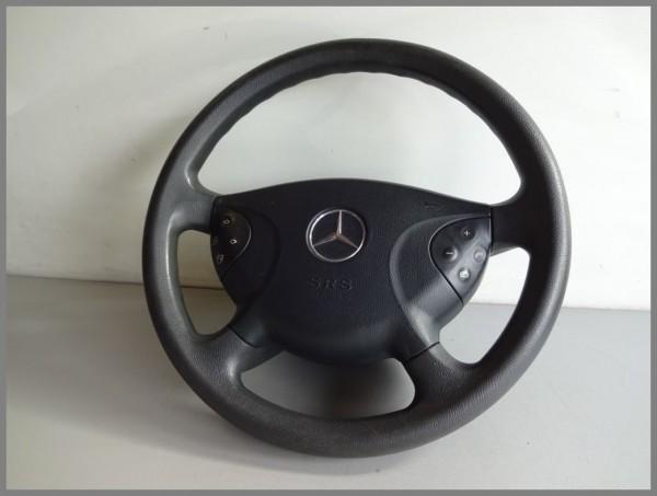 Mercedes Benz W211 Lenkrad Kunststoff Multifunktionslenkrad Schwarz 2114600003