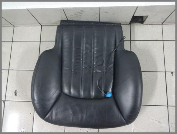 Mercedes W215 CL 55 AMG Sitzbezug Bezug Sitz 2159103946 2159102550 Leder Schwarz
