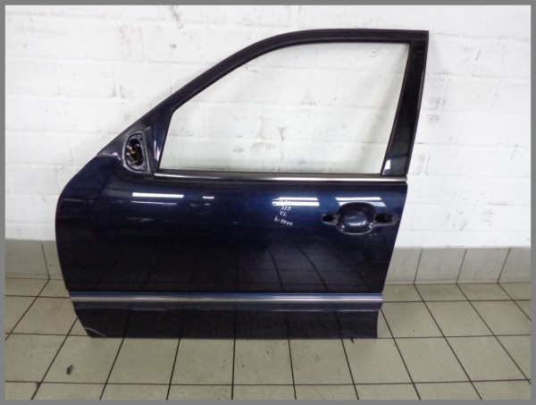 Mercedes Benz W210 Limousine Mopf Tür Vorne Links 359 Tansanitblau K1000