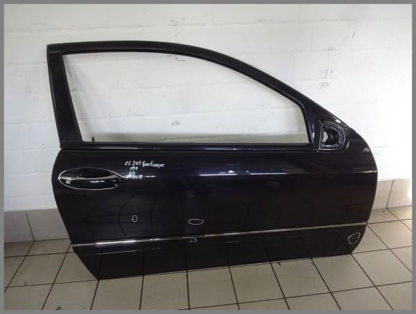 Mercedes Benz W203 Sportcoupe Door RIGHT 197 Black 2037200605 K9058 Orginal