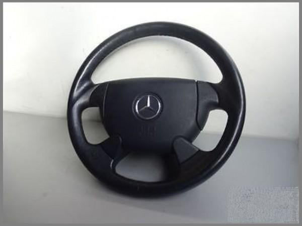 Mercedes R170 SLK W208 LEDER Airbaglenkrad Lenkrad 1704600003 Schwarz SPORT L75