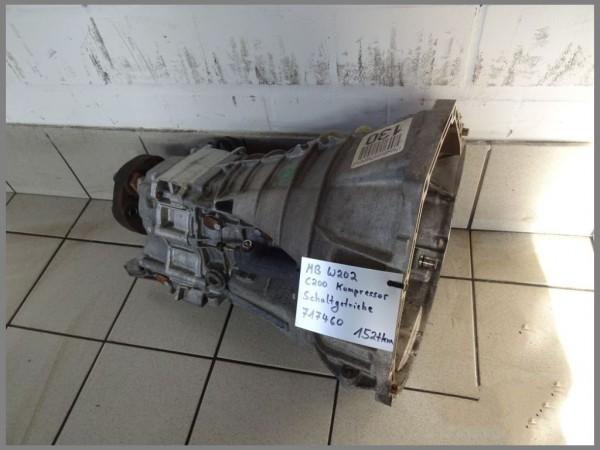 Mercedes Benz W202 Schaltgetriebe 5 Gang 717460 152tkm Getriebe C200 Kompressor