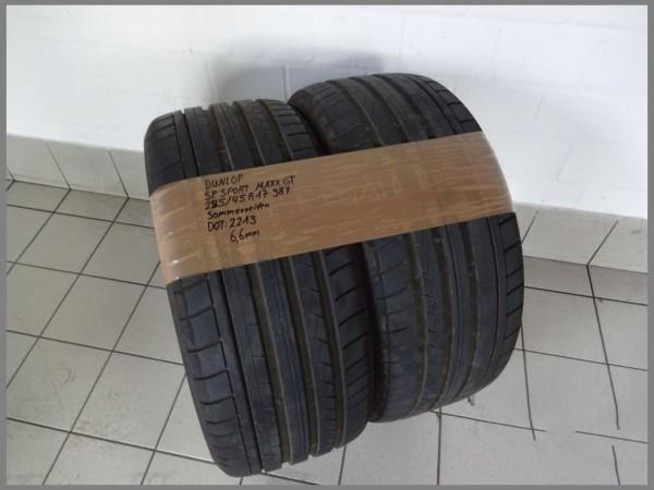 2x Dunlop 255 45 R17 98Y SP Sport MAXX GT DOT2213 6,6mm Sommerreifen