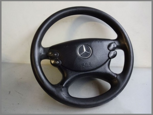Mercedes Benz MB W219 W211 steering wheel plastic 2194603503 9E00 L215