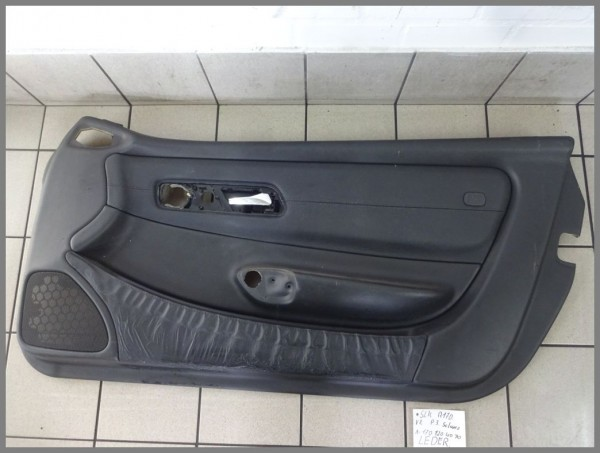 Mercedes Benz MB R170 door panel right paneling leather 1707204070 P3
